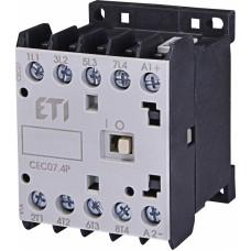 Контактор CEC07.4P (230В) AC