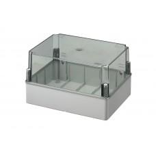 Коробка з високою прозорою кришкою, IP56 300x220x180 мм