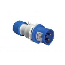 Вилка кабельна EC69070, IP44 (16A, 220V, 2P+PE) Elettrocanali