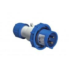 Вилка кабельна EC69071, IP67 (16A, 220V, 2P +PE) Elettrocanali