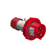 Вилка кабельна EC69073, IP67 (16A, 380V, 3P+PE) Elettrocanali
