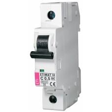 Автоматичний вимикач ETIMAT 10-DC 1p C0,5 6kA, 2137701, ETI