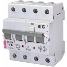 Диференційний автомат ETI KZS-4M 3p+N C 16A 10kA 30mA (тип AC) 2174024