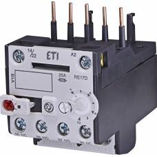 Реле теплове (для контакторів CE07, CEC 7...10А) RE 17D-10 ETI (4641409)