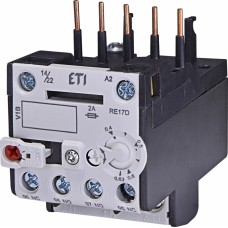 Реле теплове (для контакторів CE07, CEC 0,4...0,63А) RE 17D-0,63 ETI (4641401)