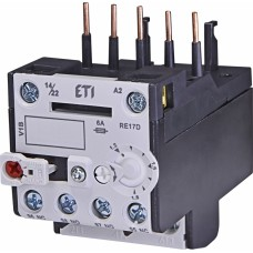 Реле теплове (для контакторів CE07, CEC 1,2...1,8А) RE 17D-1,8 ETI (4641404)