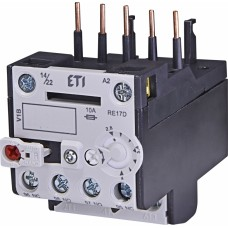 Реле теплове (для контакторів CE07, CEC 2,8...4А) RE 17D-4,0 ETI (4641406)