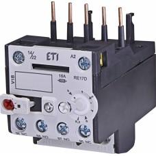 Реле теплове (для контакторів CE07, CEC 4...6,3А) RE 17D-6,3 ETI (4641407)