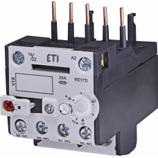 Реле теплове (для контакторів CE07, CEC 8...12,5А) RE 17D-12,5 ETI (4641410)