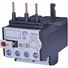 Реле теплове (для контакторів CEM9, CEM12, CEM18, CEM25 0,28...0,4А) RE 27D-0,4 ETI (4642400)