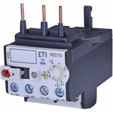 Реле теплове (для контакторів CEM9, CEM12, CEM18, CEM25 0,4...0,63А) RE 27D-0,63 ETI (4642401)