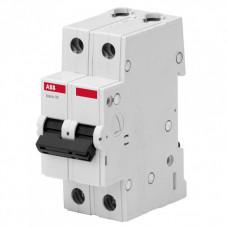 Автоматический выключатель ABB Basic M 2P 10A B 4,5kA 2CDS642041R0105 BMS412B10