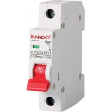 Автоматический выключатель  3P 1А B 6кА  e.mcb.pro.60.3.B1 E.NEXT p041036