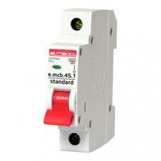 Автоматический выключатель 1P 10А В 4,5кА  e.mcb.stand.45.1.B10 E.NEXT s001007