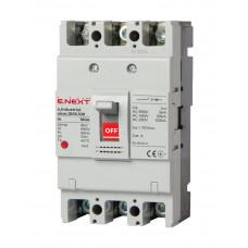 Автоматичний вимикач ENEXT e.industrial.ukm.100S.100 3P 100A 50кА i0010006