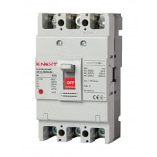 Автоматичний вимикач ENEXT e.industrial.ukm.100S.63 3P 63A 50кА i0010022