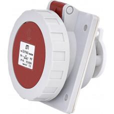 Розетка вбудована EEH-1643 IP67 16A 400V 3P+PE ETI 4482083