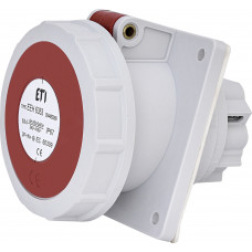 Розетка вбудована EEH-6353 IP67 63A 400V 3P+N+PE ETI 4482089