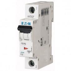 Автоматический выключатель Eaton 1P 10A C 6kA PL6-C10/1 286531