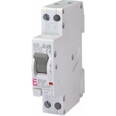 Диференційний автомат ETI KZS-1M SUP 1P+N С 10A 6kA 30mA (тип A) підкл. знизу (2175222)