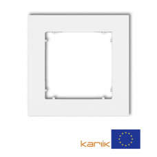 Рамка одинарна універсальна Karlik Mini біла MR-1