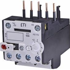 Реле теплове (для контакторів CE07, CEC 5,6...8А) RE 17D-8,0 ETI (4641408)
