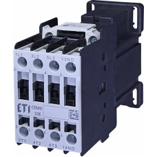 Контактор силовий ETI CEM09.10 230V AC (9 А; 4kW; AC3) 3NO+1NO (4642123)