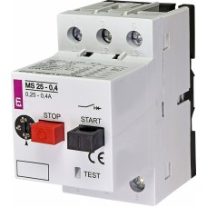 Автоматичний вимикач захисту двигуна MS25-0,4 4600030 ETI