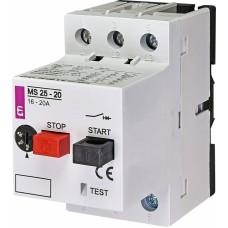Автоматичний вимикач захисту двигуна MS25-20 4600120 ETI