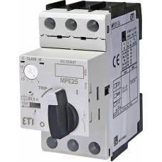 Автоматичний вимикач захисту двигуна MPE25-1,6 4648006 ETI