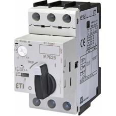 Автоматичний вимикач захисту двигуна MPE25-2,5 4648007 ETI