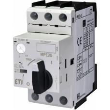 Автоматичний вимикач захисту двигуна MPE25-4 4648008 ETI