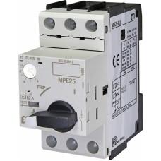 Автоматичний вимикач захисту двигуна MPE25-6,3 4648009 ETI