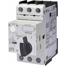 Автоматичний вимикач захисту двигуна MPE25-10 4648010 ETI