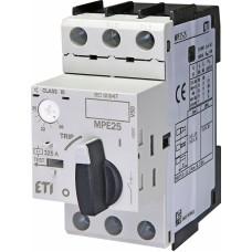 Автоматичний вимикач захисту двигуна MPE25-25 4648013 ETI