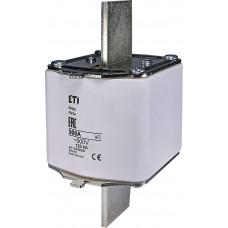 Запобіжник NH4a gG 900A 500V 120kA AC 4116111 ETI для HVL (універсальний)