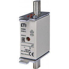 Запобіжник NH000 gG 160A 400V 120kA AC 4181216 ETI (універсальний)
