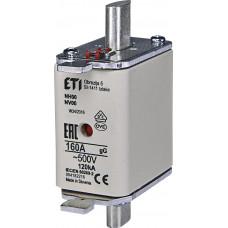 Запобіжник NH00 gG 160A 500V 120kA AC 4182216 ETI (універсальний)