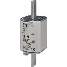 Запобіжник NH1 gG 200A 500V 120kA AC 4184217 ETI (універсальний)