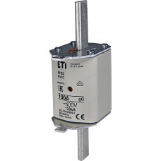 Запобіжник NH2 gG 100A 500V 120kA AC 4185214 ETI (універсальний)