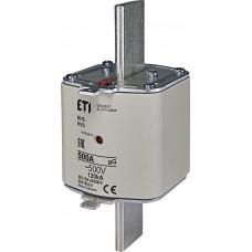 Запобіжник NH3 gG 500A 500V 120kA AC 4186231 ETI (універсальний)