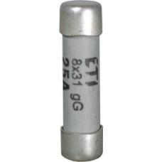 Запобіжник CH 8x32 aM 10A 400V 50kA 2611007 ETI (сповільнений)