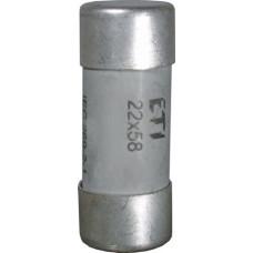 Запобіжник CH 22x58 aM 80A 500V 120kA 2641023 ETI (сповільнений)