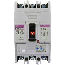 Автоматичний вимикач ETIBREAK EB2 125/3L 125A 3P 25kA рег. зах. (тепл. (0,63-1)*In / ел.магн. (6-12)*In)  4671026 ETI