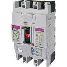 Автоматичний вимикач ETIBREAK EB2 125/3S 32A 3P 36kA рег. защита (тепл. (0,63-1)*In / эл.магн. (6-12)*In)  4671042 ETI