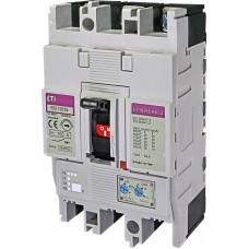 Автоматичний вимикач ETIBREAK EB2 125/3S 100A 3P 36kA рег. зах. (тепл. (0,63-1)*In / ел.магн. (6-12)*In)  4671045 ETI