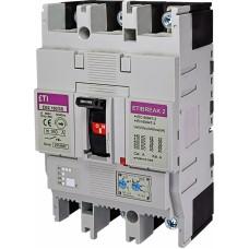 Автоматичний вимикач ETIBREAK EB2 160/3S 160A 3P 36kA рег. зах. (тепл. (0,63-1)*In / ел.магн. (6-13)*In)  4671061 ETI
