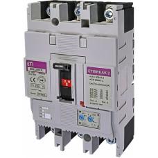 Автоматичний вимикач ETIBREAK EB2 250/3L 200A 3P 25kA рег. зах. (тепл. (0,63-1)*In / ел.магн. (6-13)*In)  4671072 ETI