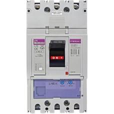 Автоматичний вимикач ETIBREAK EB2 400/3S 400A 3P 50kA рег. зах. (тепл. (0,63-1)*In / ел.магн. (6-12)*In)  4671102 ETI