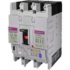 Автоматичний вимикач ETIBREAK EB2 250/3LE 250A 3P 36kA рег. зах. (тепл. (0,4-1)*In / ел.магн. (вибір.)  4671354 ETI